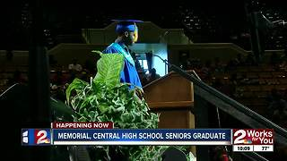 Memorial, Central High School seniors graduate Thursday - Video