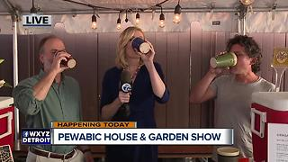 Pewabic pottery pints - Video