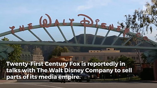 Fox Held Talks With Disney to Sell Off Most of Company