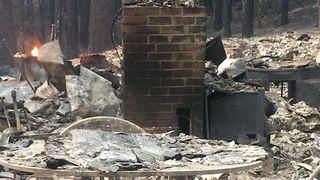 Family Home in Kenwood Reduced to Rubble After Wildfire - Video