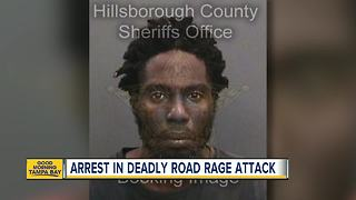 Police arrest Tampa man in road rage murder - Video