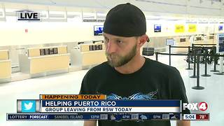 SWFL group heading to Puerto Rico to help with recovery - Video