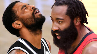 Nets SICK Of Kyrie Irving Skipping Games, Willing To Trade ANYONE But KD To Secure James Harden