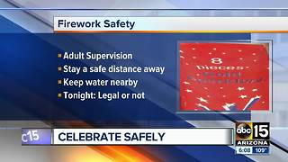 Flagstaff fireworks show canceled because of extreme fire danger - Video