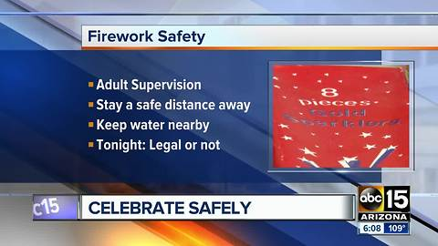 Flagstaff fireworks show canceled because of extreme fire danger