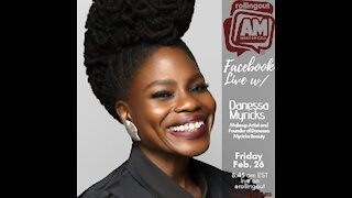 Danessa Myricks discusses her growth in the beauty industry