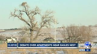 Broomfield City Council approves new apartment complex development near eagle nest - Video