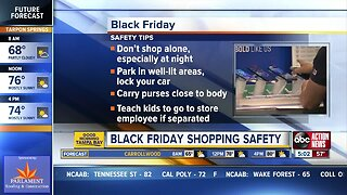 Black Friday shopping safety
