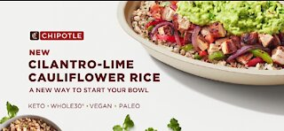 Chipotle releases new vegan rice option