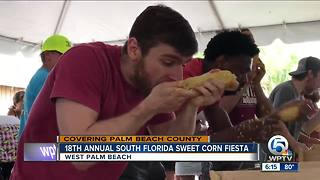 18th annual South Florida Sweet Corn Festival held in West Palm Beach