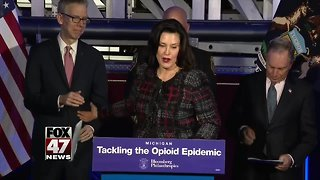 Michigan getting $10 million to help fight the opioid crisis