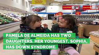 Stranger Starts Talking to Mom About Daughter with Down Syndrome, Mom Left Crying - Video