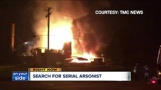 Search for serial arsonist in Wellington - Video