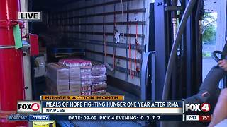 Meals of Hope fighting for hunger one year after Hurricane Irma - 7am live report
