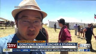 Supply drive for teachers in Las Ve3gas - Video