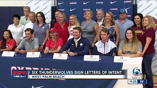 Six Thunderwolves Sign Letters of Intent - Video