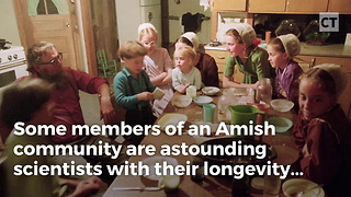 Amish Gene Helps Longevity - Video