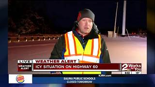 Crews working to clear Eastern Oklahoma roads (part 2) - Video