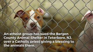 Atheists Sue Animal Shelter - Video