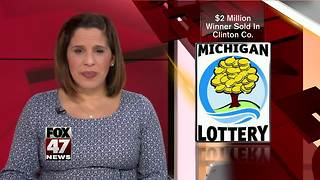 Quality Dairy Sells $1.9 Million Winning Lottery Ticket in Fowler - Video