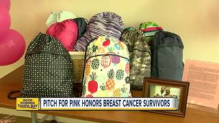 Breast cancer survivor helping current patients