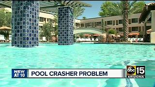 Have you been targeted by 'pool crashers'? - Video