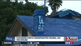 LA dodger house - Video