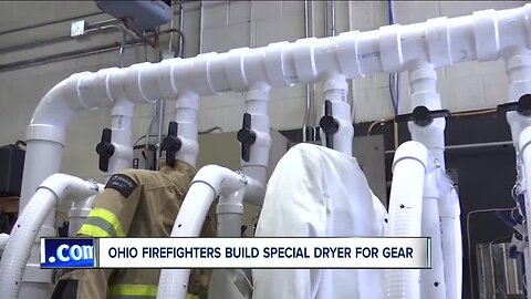 Ohio fireighters Build special dryer for gear