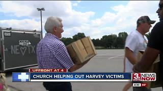 Church helps out hurricane victims in Texas - Video