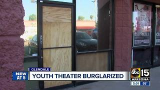 Burglar sought in Glendale theater break-in - Video