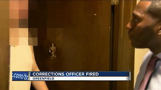 Milwaukee Co. corrections officer fired - Video