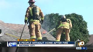 Fire breaks out at group home in South Bay - Video