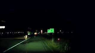 Dash cam video shows driver hit pulled over vehicle
