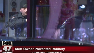 New information on attempted jewelry store robbery - Video