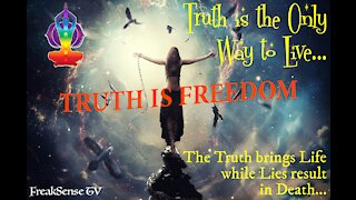 Charlie Freak LIVE with Marie Russel: The Truth is the Only Way to Live