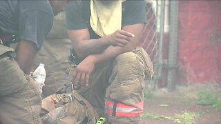 Buffalo firefighter suffers heat exhaustion, 15-city firefighters hurt in last two-days