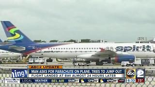Spirit Airlines plane headed to BWI diverted to Denver - Video