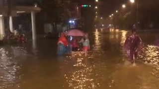 Typhoon Damrey Brings Widespread Flooding to Vietnam - Video