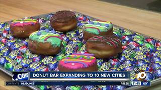 Donut Bar expands to new cities - Video