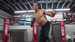 MMA Fighter preps for World Championship Match