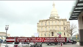 Lawmakers to take up bills designed to limit's governor's emergency power