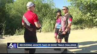 Recovering addicts take on Boise Trails Challenge