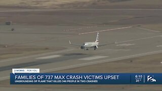 Boeing 737 MAX not welcomed by families of those who died aboard
