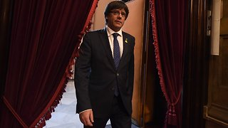German Court Rules Puigdemont Cannot Be Extradited For Rebellion - Video
