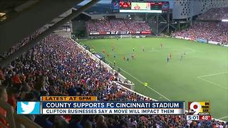 Clifton business owners say FC Cincinnati move will affect traffic - Video