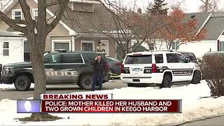 Police identify triple murder-suicide victims - Video