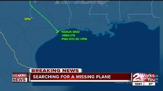 Coast Guard searching for lost OKC plane in Gulf of Mexico - Video