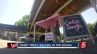 Woman Launches Raw Cookie Dough Stand In Nashville - Video