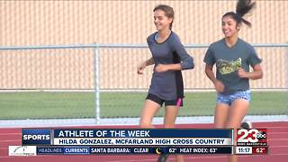 Female Athlete of the Week: Hilda Gonzalez - Video