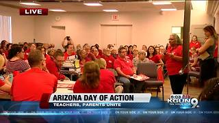"Save our Schools Arizona hosts ""Arizona Day of Action"" - Video"